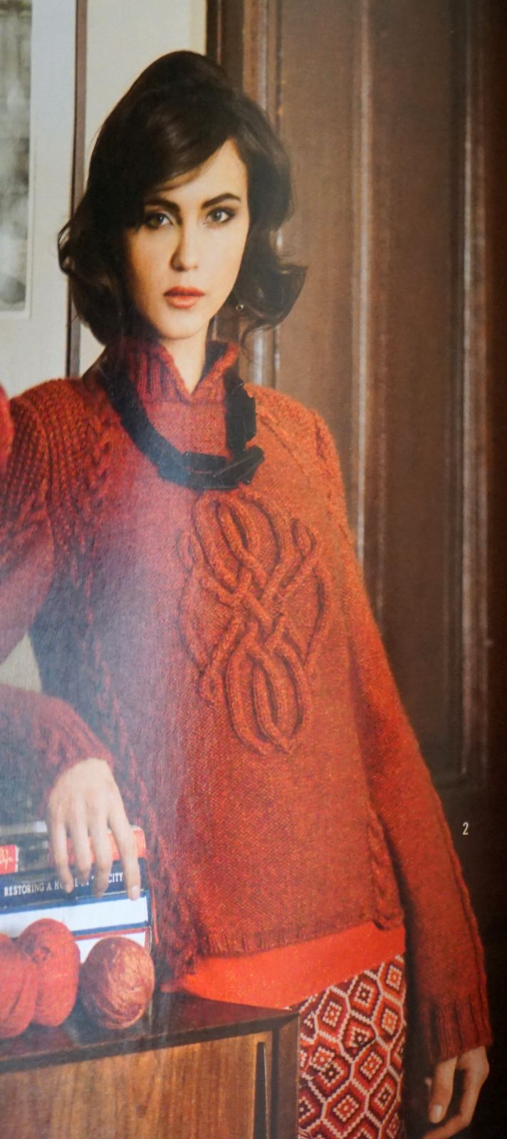 Details about ~ RARE VINTAGE OOP VOGUE KNITTING PATTERN MAGAZINE WINTER  2012 - 2013 ~